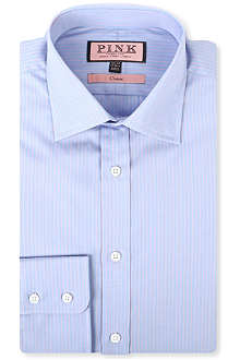 THOMAS PINK Alexander classic-fit single-cuff shirt