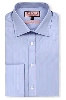 THOMAS PINK Alexander classic-fit double-cuff shirt