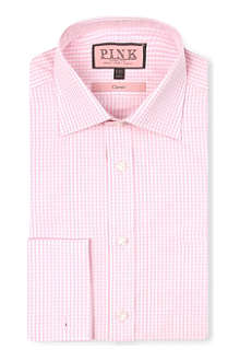 THOMAS PINK Classic-fit double-cuff shirt