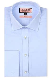 THOMAS PINK Edmond classic-fit double-cuff shirt