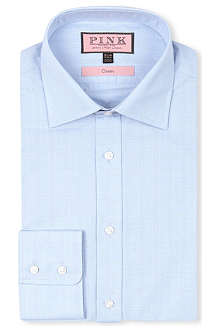 THOMAS PINK Classic-fit button-cuff shirt