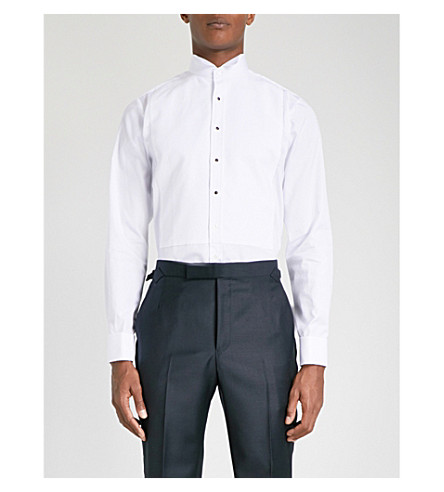 THOMAS PINK Wing evening super slim fit dc shirt (White