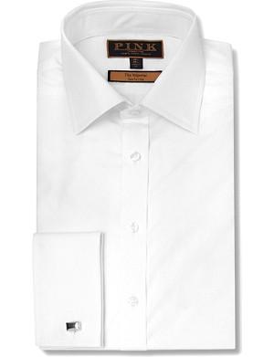 THOMAS PINK Edwin slim fit double cuff shirt