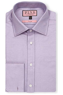 THOMAS PINK Saladin classic-fit double-cuff shirt