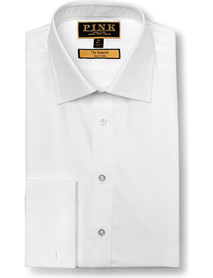THOMAS PINK Imperial slim fit double cuff shirt