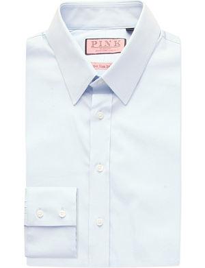 THOMAS PINK Freddie super slim fit single cuff shirt