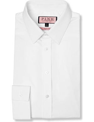 THOMAS PINK Freddie super slim fit single cuff shirt