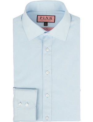 THOMAS PINK Keaton slim-fit single-cuff shirt