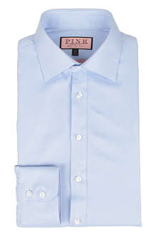 THOMAS PINK Slim-fit single-cuff twill shirt