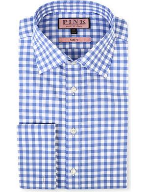 THOMAS PINK Coddenham slim-fit double-cuff evening shirt