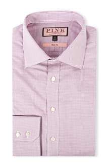 THOMAS PINK Kirckpatrick slim-fit single-cuff shirt