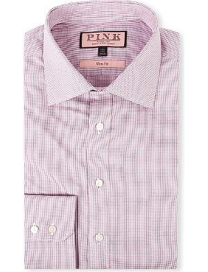 THOMAS PINK Kirckpatrick slim-fit single-cuff shirt