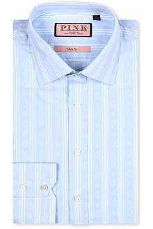 THOMAS PINK Kimber slim-fit single-cuff shirt