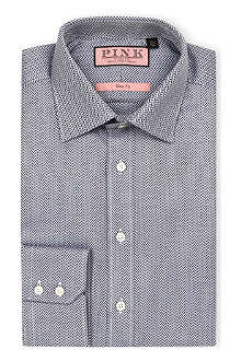 THOMAS PINK Palma slim-fit button-cuff Prestige shirt