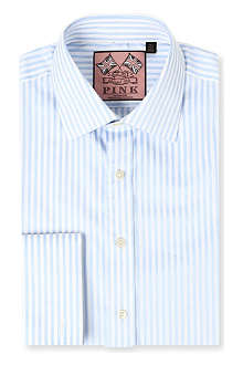 THOMAS PINK Algernon slim-fit double cuff shirt