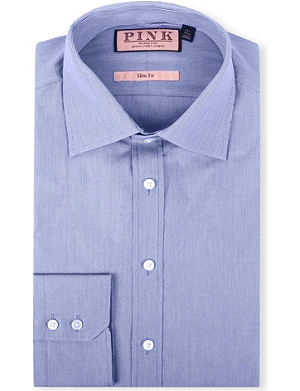 THOMAS PINK Murphy slim-fit single-cuff shirt