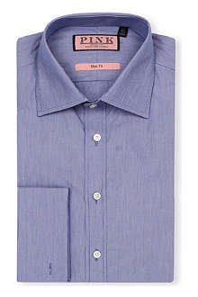THOMAS PINK Middleton slim-fit double-cuff shirt