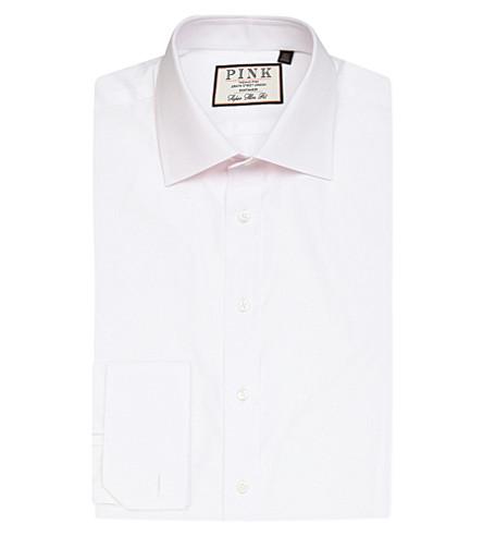 THOMAS PINK 弗雷德里克超级修身版型衬衫 (白色