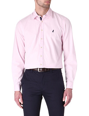THOMAS PINK Lowe cotton poplin shirt