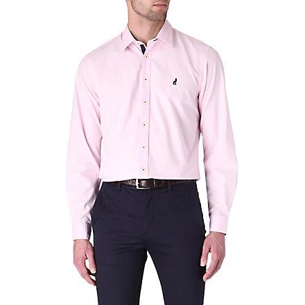 THOMAS PINK Lowe cotton poplin shirt (Pink
