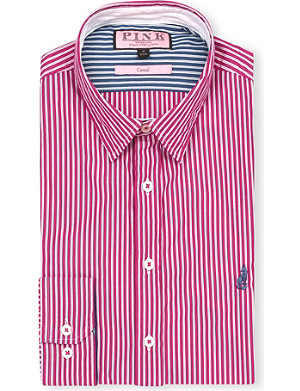 THOMAS PINK Latitude regular-fit button-cuff shirt