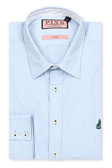 THOMAS PINK Lower regular-fit single-cuff shirt