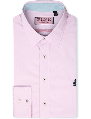 THOMAS PINK Lower regular-fit single-cuff shirt
