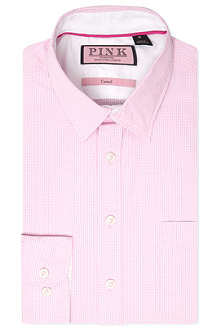THOMAS PINK Longitude regular-fit single-cuff shirt
