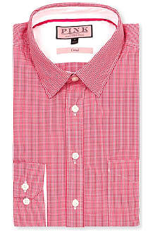 THOMAS PINK Longitude regular-fit button-cuff shirt