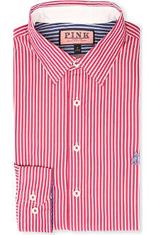 THOMAS PINK Latitude regular-fit single-cuff shirt