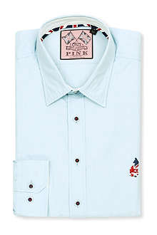 THOMAS PINK Phillip regular-fit single-cuff shirt