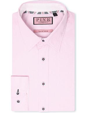 THOMAS PINK Phillip regular-fit single-cuff shirt