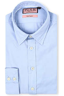 THOMAS PINK Drake slim-fit single-cuff shirt