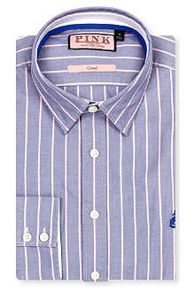 THOMAS PINK William regular-fit button-cuff shirt