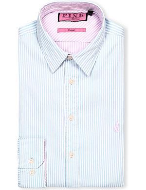 THOMAS PINK Albin regular-fit single-cuff shirt