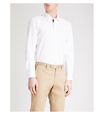 THOMAS PINK 斯内尔经典配棉衬衫 (白色