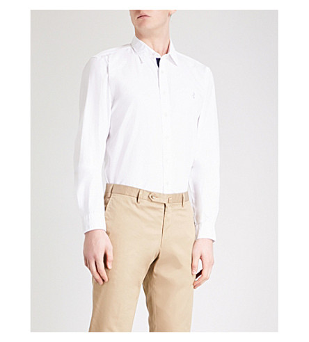 THOMAS PINK Snell classic-fit cotton shirt (White