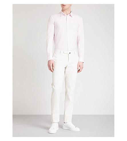 THOMAS PINK Drake slim-fit cotton shirt (Pale+pink