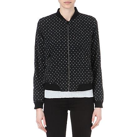 DIESEL Bomber jacket (Black