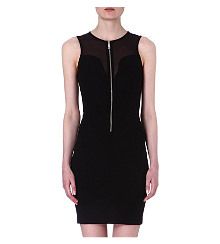 DIESEL Zip front dress (Black
