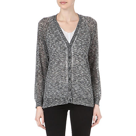 DIESEL Multicoloured knitted cardigan (Grey