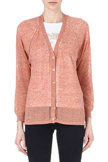 DIESEL Multicoloured knitted cardigan