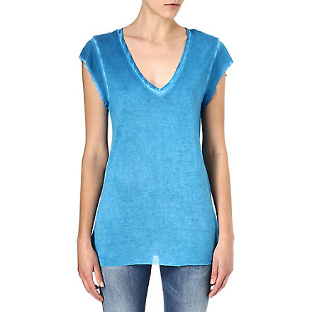 DIESEL V-neck t-shirt (Blue