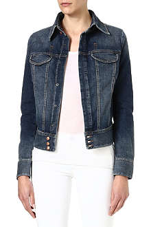 DIESEL Stretch-denim jacket
