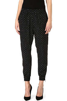 DIESEL Polka dot jogging bottoms
