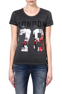 DIESEL Cotton graphic t-shirt