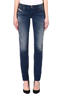 DIESEL Sweat mid-rise jeans