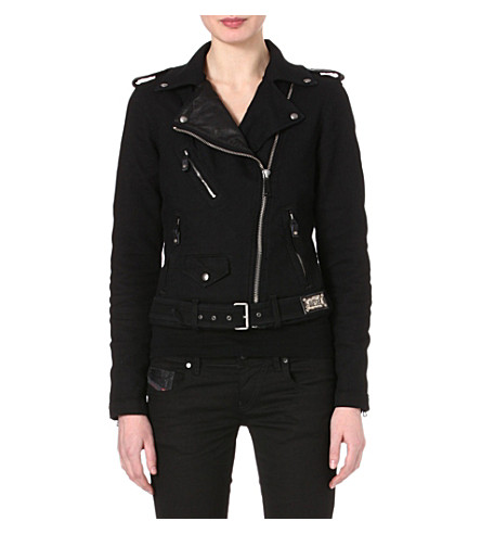 DIESEL Tribute biker jacket (Black