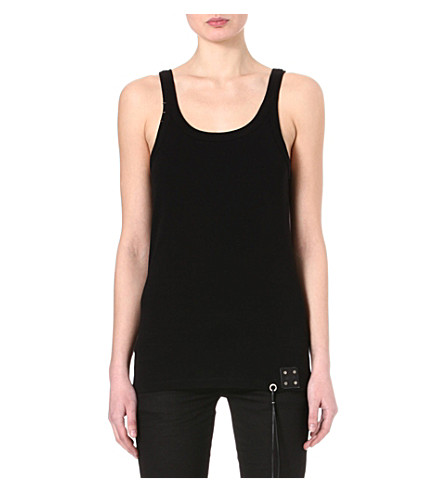 DIESEL Tribute cotton vest (Black