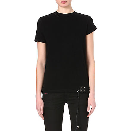 DIESEL Tribute cotton t-shirt (Black